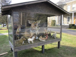 Nativity protected by Stable and Clear Plastic