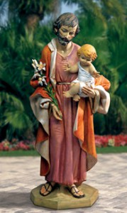 St Joseph with Jesus
