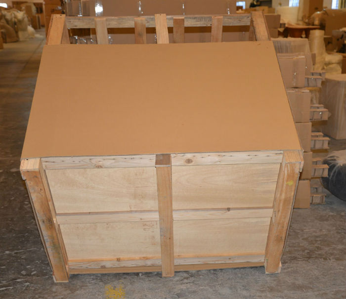 We design and build special crates with solid floors for Christmas Night's four legged animals