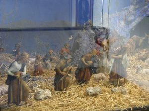 Diorama of first Nativity at Franciscan Missionary Museum in Fiesole
