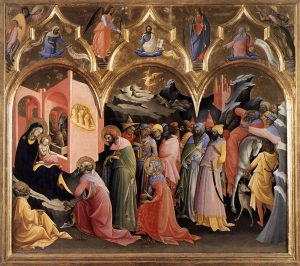 Monaco: Adoration of the Magi in the Uffizi Gallery