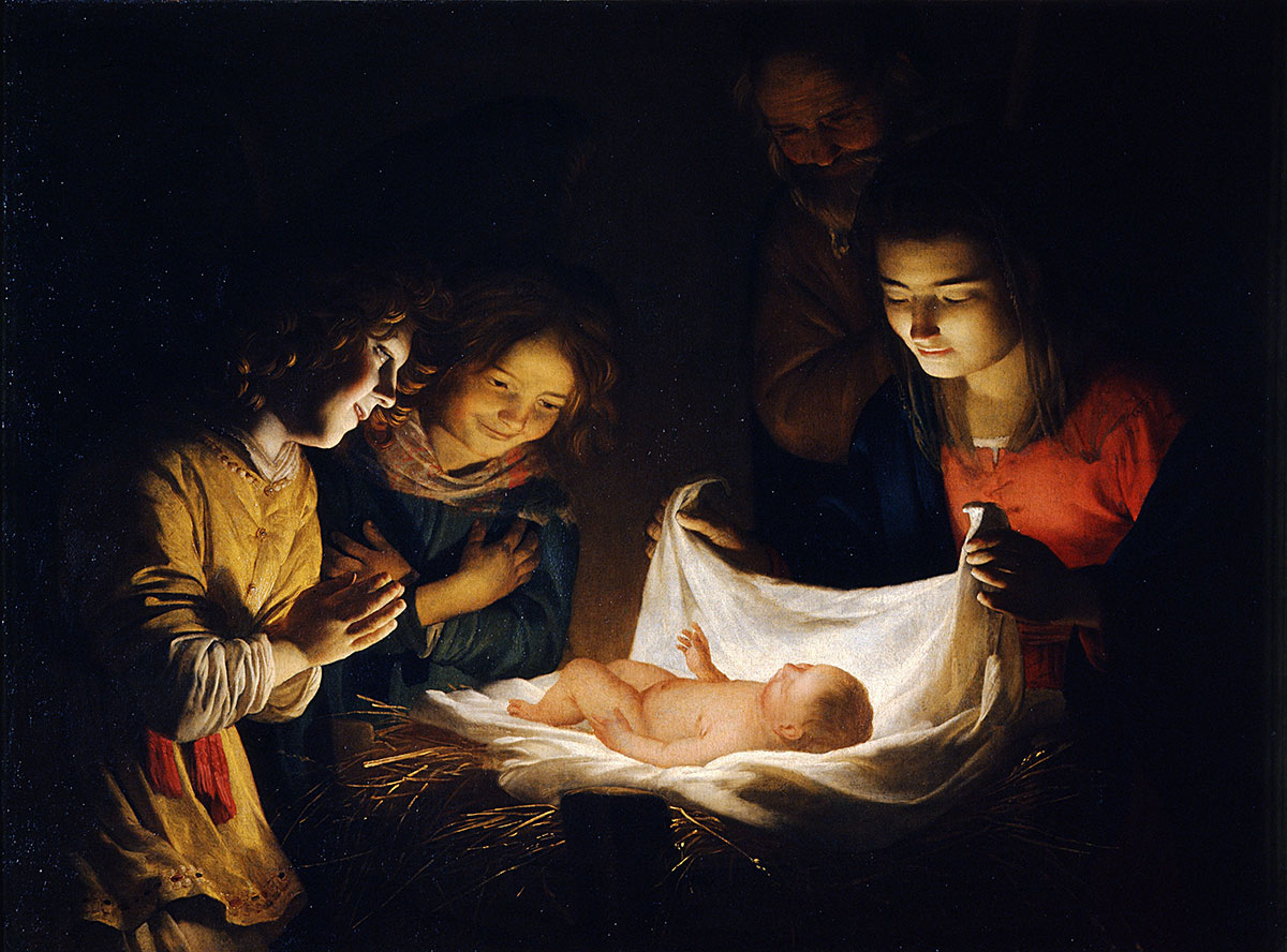 Van Hontorst: Adoration of the Christ Child