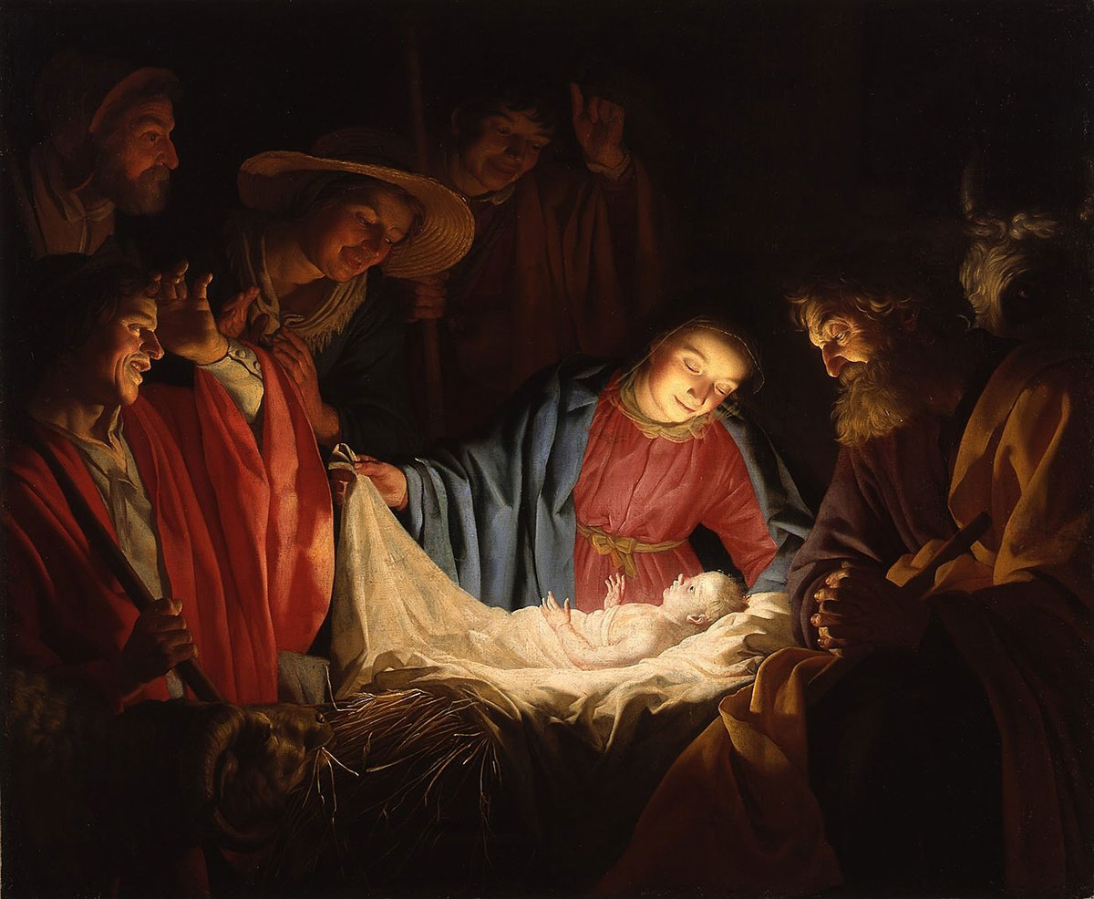 Adoration of the Christ Child by the Shepherds