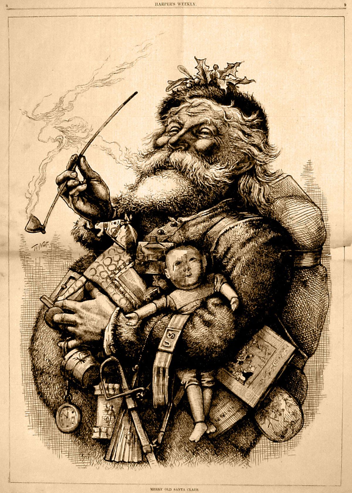 Thomas Nast: St. Nicholas